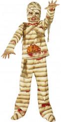 Disfarce de múmia criança Halloween