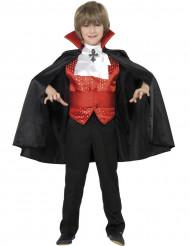 Disfarce vampiro menino de Halloween