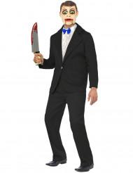 Disfarce ventríloquo homem Halloween