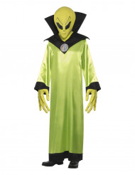 Disfarce de extraterreste adulto Halloween