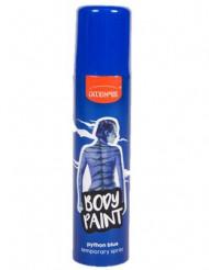 Spray azul para o corpo e cabelos