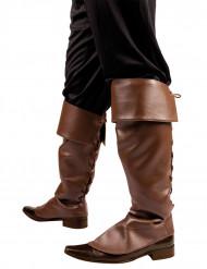 Cobre-botas castanhas para adulto