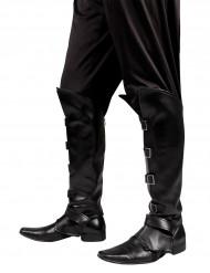 Cobre-botas pretas