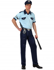 Disfarce polícia adulto