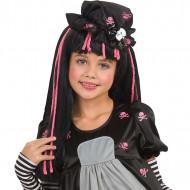 Peruca Black Dolly criança