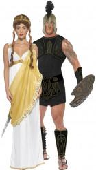 Disfarce de casal Aquiles e Helena de Troia™