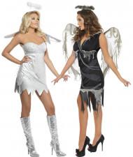 Disfarce par de anjos