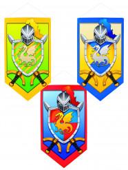 Decoração cavaleiro medieval