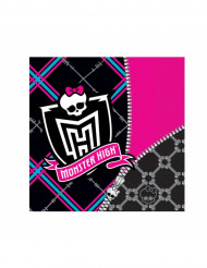 Lote de 20 guardanapos Monster high™