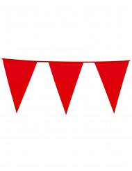 Grinalda bandeirolas vermelha