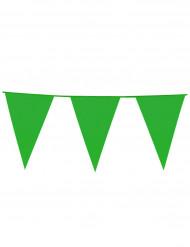 Grinalda bandeirolas verde