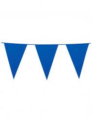 Grinalda bandeirolas azul