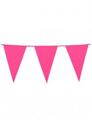 Grinalda bandeirolas cor-de-rosa