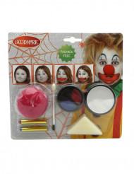 Kit maquilhagem palhaço Halloween