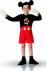 Disfarce macacão curto Mickey™ menino