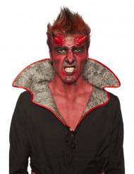 Kit de maquilhagem demónio adulto Halloween