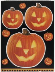 Adesivos para janela abóbora Halloween