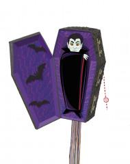 Pinhata caixão de vampiro Halloween