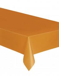 Toalha de plástico cor de laranja