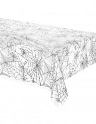 Toalha de plástico teia de aranha Halloween