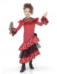 Disfarce de dançarina de Flamenco para menina