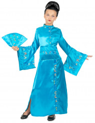 Fato de geisha menina