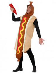 Disfarce de Hot Dog para adulto