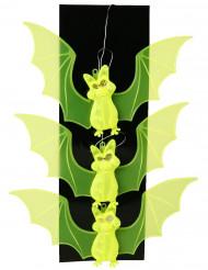 Decoração para pendurar morcegos