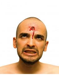 Ferida falsa impacto de bala adulto