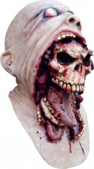 Máscara caveira sangrenta adulto Halloween