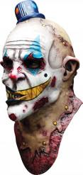 Máscara paljaço terrível adulto Halloween