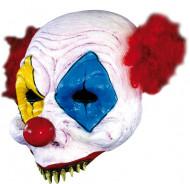 Máscara palhaço assustador Halloween adulto