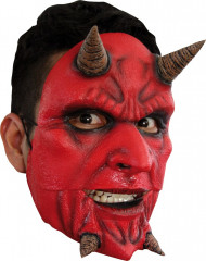 Máscara demónio para adulto Halloween