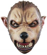 Máscara lobisomem feroz adulto Halloween