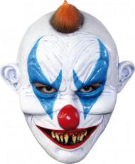 Máscara palhaço maléfico adulto Halloween