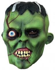 Máscara monstro verde adulto Halloween