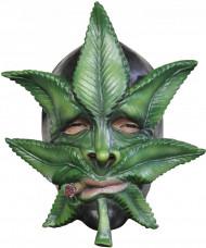 Máscara folha de Canabis adulto