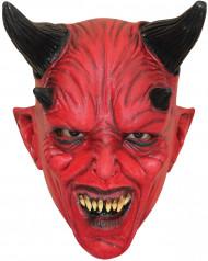 Máscara diabo vermelho criança Halloween