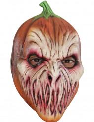 Máscara abóbora assustadora adulto Halloween