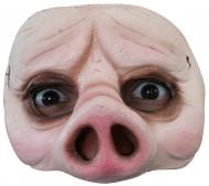 Meio máscara de porco adulto