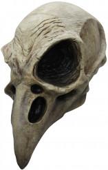 Máscara esqueleto de pássaro adulto Halloween