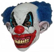 Máscara integral palhaço maléfico adulto Halloween