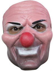Máscara depalhaço assassino adulto Halloween