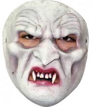 Máscara vampiro adulto dentes pontigudos aparentes Halloween