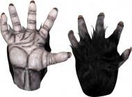 Mãos gorila adulto Halloween