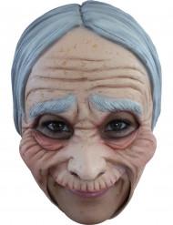 Máscara velha mulher adulto Halloween