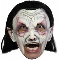 Máscara vampiro branco adulto Halloween