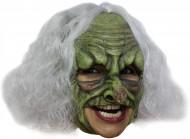 Máscara bruxa verde adulto Halloween