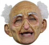 Máscara de velho para adulto Halloween