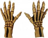 Luvas esqueleto adulto Halloween